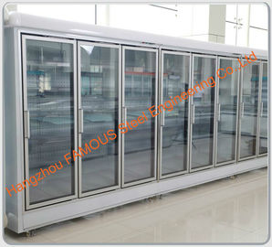 Commercial Refrigeration Display Chiller Glass Door Display Freezer Glass Door