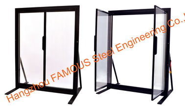China Supermarket Supper - Narrow Frame Glass Door Without Stand Column factory