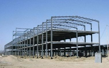 China Heavy Weight / Long Length Multi-storey Steel Building With Prefab Steel Structure factory