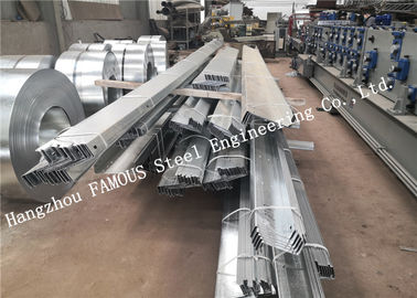 China 2.4mm Australia New Zealand Standard DHS Galvanized Steel Purlins Girts Exported to Oceania factory