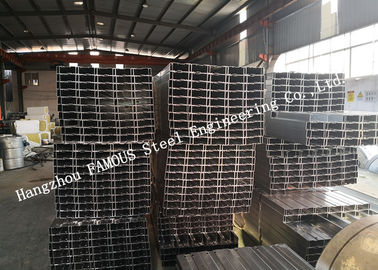 China C25019 C/Z Shape Galvanized Steel Purlins Girts AS/ANZ4600 Material for Residential Building factory