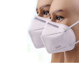 China Premium High Filtration Barrier Against Bacteria Respirator N95 KN95 Earloop Disposable Face Mask For Bulding Contractor factory