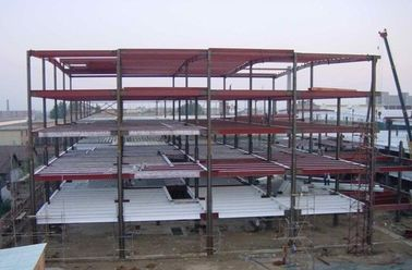 China High-strength / Multi-functional Multi-storey Steel Building With Light Steel Structure factory