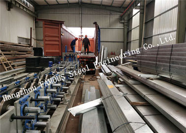 China New Zealand AS/NZS Standard DHS Equivalent Galvanized Steel Purlins Exported to Oceania Market factory