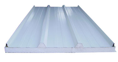 China Steel Building Metal Roofing Sandwich Panel EPS Filling 30mm to 150mm factory