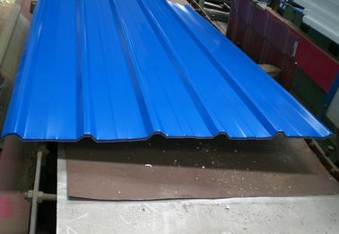 China Building Wall / Roof Metal Roofing Sheets 0.6mm Thickness High Strength factory