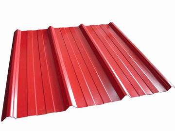China High Precision Metal Roofing Sheets Corrugated Customized Shape factory