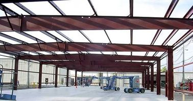 China Prefabricated Steel Pre-engineered Building With Q345 Heavy Column factory
