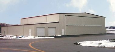 China Energy Efficient Steel Aircraft Hangar Buildings With Wall / Roof Panel factory