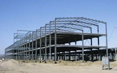 Multi-pan Customized Painted Structural Steel Fabrications In Deep Dimension