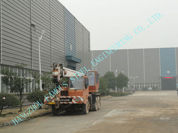 China Multi Gable Span Light Industrial Steel Buildings Prefabricated ASTM Standards 88 X 92 factory