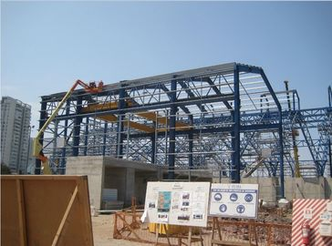 China PEB Industrial Steel Framed Buildings Easy Erection For Mining Storage factory