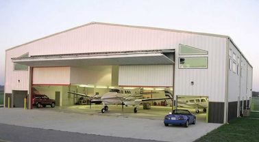 China Customized Prefabricated Steel Aircraft Hangars With Labour Saving factory