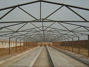 China Noiseproof Insulation Chicken Shed Framing Systems Light Steel Frame Sandwich Panel factory