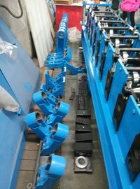 Hydraulic Cold Roll Forming Machine Solar Cell Panel Rack Easy Erection