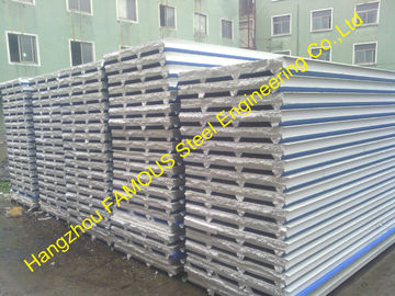 China Fireproof EPS Sandwich Panel For Steel Building Wall , Roof Cladding factory