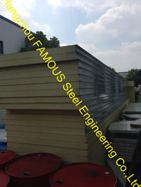 China Structural Insulated Sandwich Panels , Wall And Roof PU Panels factory