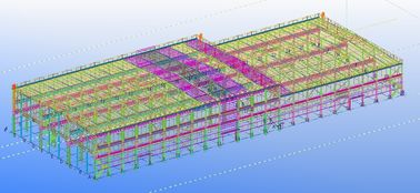 Pre-engineered Prefabricated Steel Commercial Structural Engineering Designs