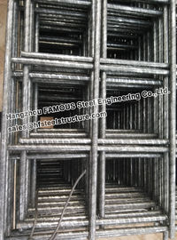 China Industrial Prefabricated Steel Square Mesh Commercial Ground Slabs factory