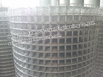 China High Density Concrete Reinforcing Mesh For Pavements Driveways factory
