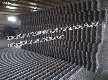 China Square Ribbed Steel Reinforcing Mesh Contruct Reinforced Concrete Slabs factory