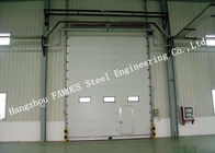 Private Customized Industrial Garage Doors For Warehouse / Cold Room Storage