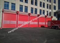 Motorized Industrial Garage Doors With Remote Control Quick Response Doors Fire Emergency Use