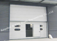 Rapid Insulation Industrial Garage Doors Fast Automatic Shutter Doors For Hangar / Garage