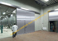 Lightweight Stainless Sliding Door Smart Access System With Polyurethane Core Door Panel