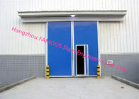 PU Foaming Automatic Handle Industrial Garage Doors EPS Sandwich Panel Sliding Door For Workshop