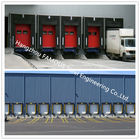 Container Loading Dock Doors With Seal Shelter For Warehouse And Distribution Center