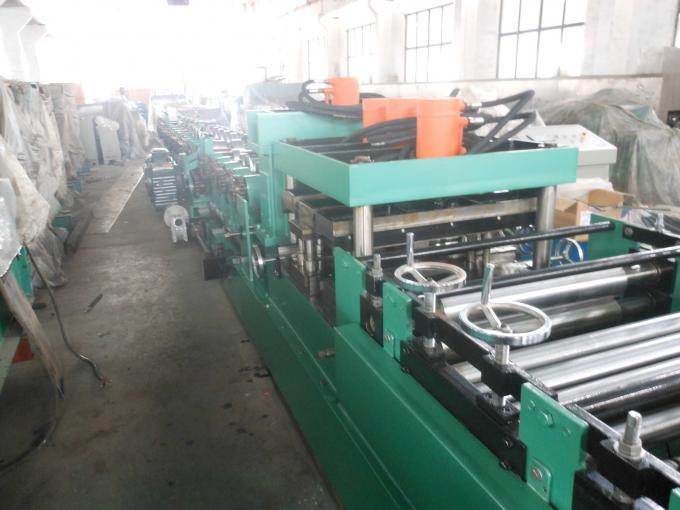 Z Purlin Cold Roll Forming Machine For Galvanized Steel With Hydraulic