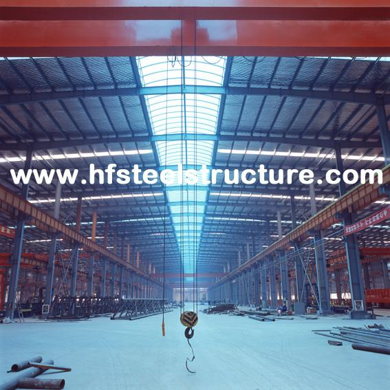 Prefab House Earthquake Proof Light Industrial Steel Buildings With Q235, Q345