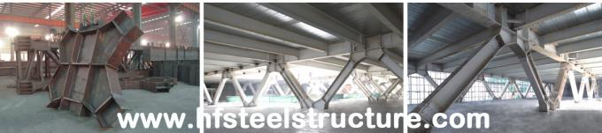 Plasma And Oxyfuel Cutting, Fire Proof And Rust Proof Commercial Steel Buildings 5