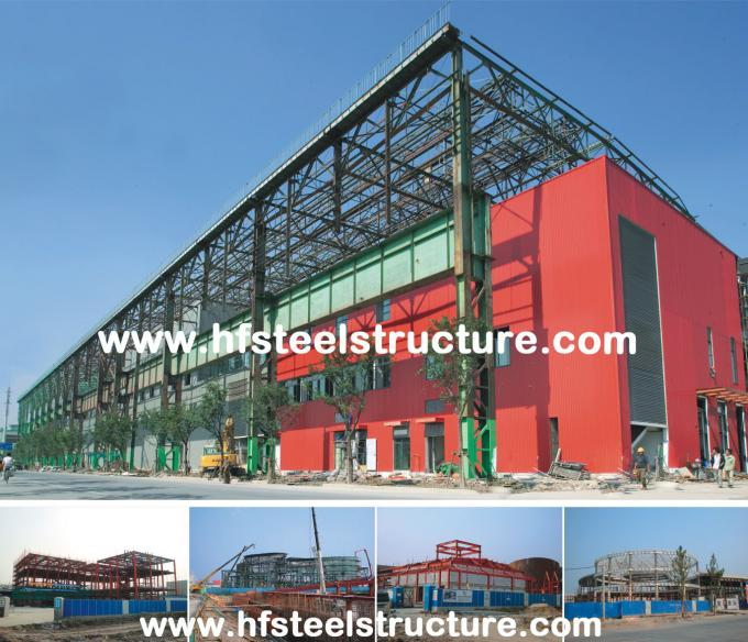 Plasma And Oxyfuel Cutting, Fire Proof And Rust Proof Commercial Steel Buildings 6