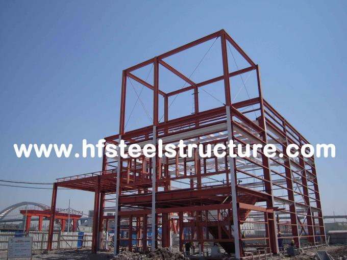 Plasma And Oxyfuel Cutting, Fire Proof And Rust Proof Commercial Steel Buildings 8