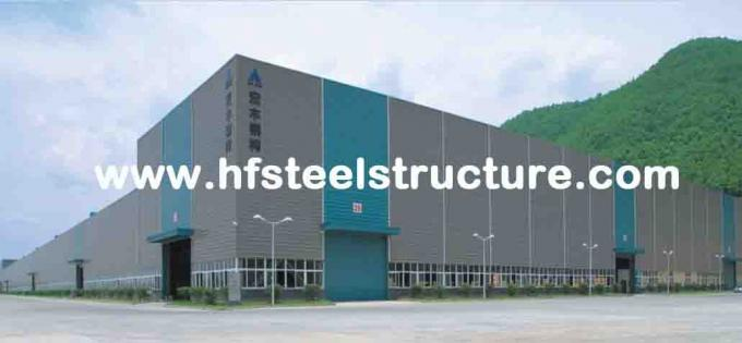 OEM Prefabricated Welding,Braking, Rolling And Painting Metal Commercial Steel Buildings