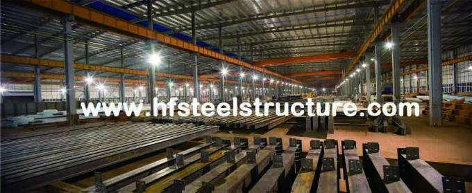 Industrial Prefabricated Steel Frame Prefab Building, Multi-Storey Steel Building