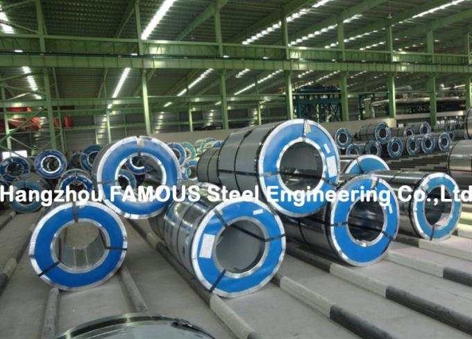 Hot Galvanized Galvalume Prepainted Steel Coil With Zinc