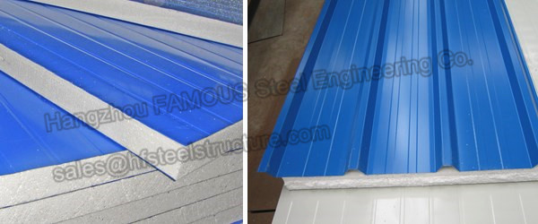 Sandwich Panels Types : Insulation eps sandwich panel container house