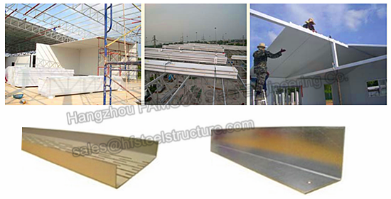 Industrial Metal Building Sandwich Panel : Insulation eps sandwich panel container house