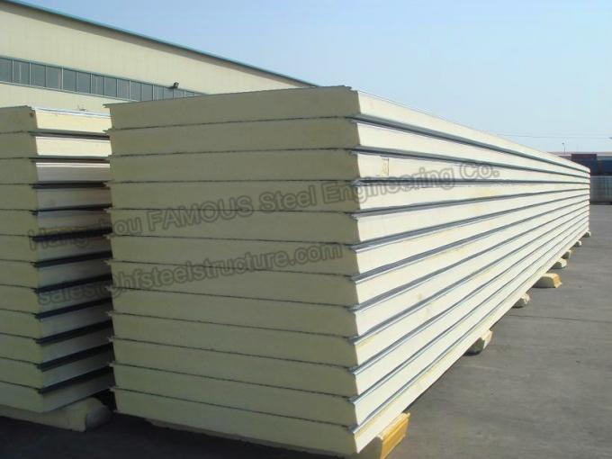 PU Cold Room Insulated Sandwich Panels 2