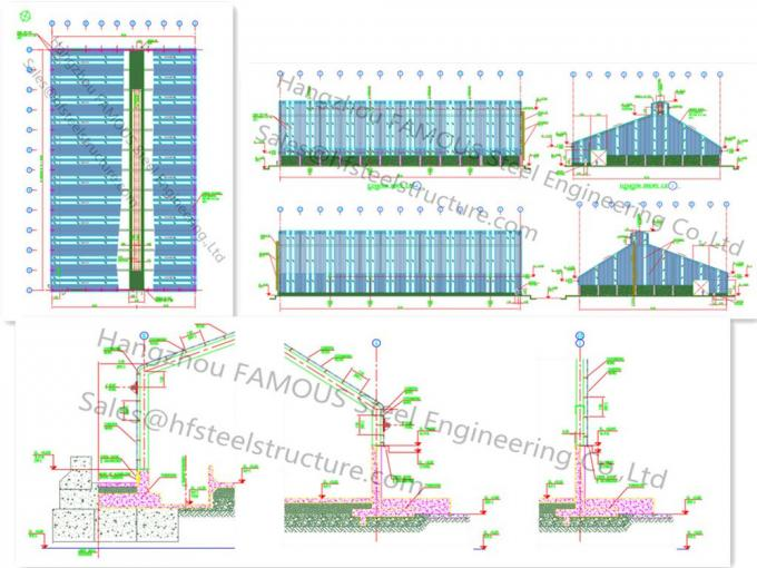 Steel workshop civil engineering structural designs for for Structural design of a house