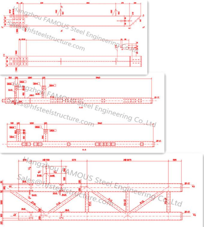 Steel Workshop Civil Engineering Structural Designs For Fabrications