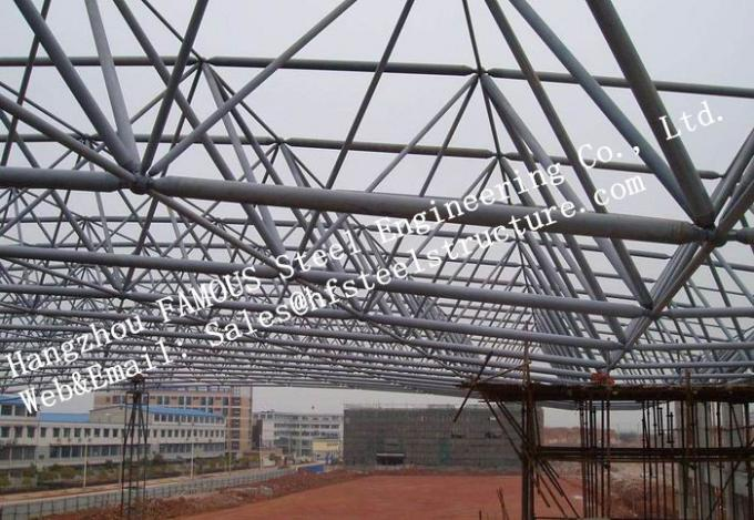 Industrial Metal Structural Multi-storey Steel Building Fabrication Steel Metallic Construction