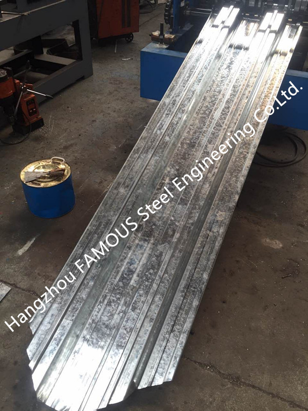 Steel Composite Floor Decks Metal Roll Forming Machine Cold Roll NZS BS AS