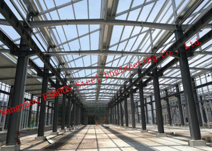 Easy Installation Industrial Steel Buildings structure Framed Workshop Building Cladding
