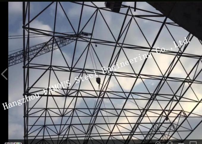 Synthetic Stadium Steel Structure Building Architectural And Structural Engineering Designs