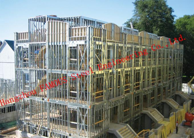 Structural Steel Framed Multi-Storey Steel Building EPC Contractor General And High Rise Building
