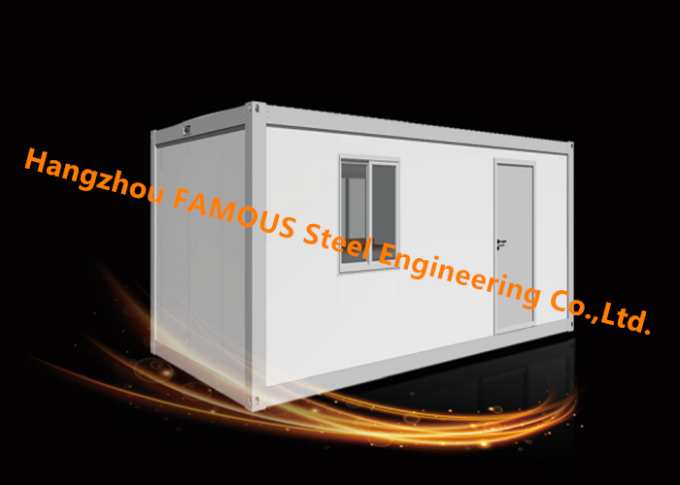 Modern Steel Frame Modular Prefab Container House For Site Office And Temporary Accommodation